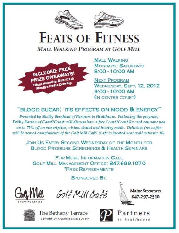 Feats of Fitness Mall Walking Program: