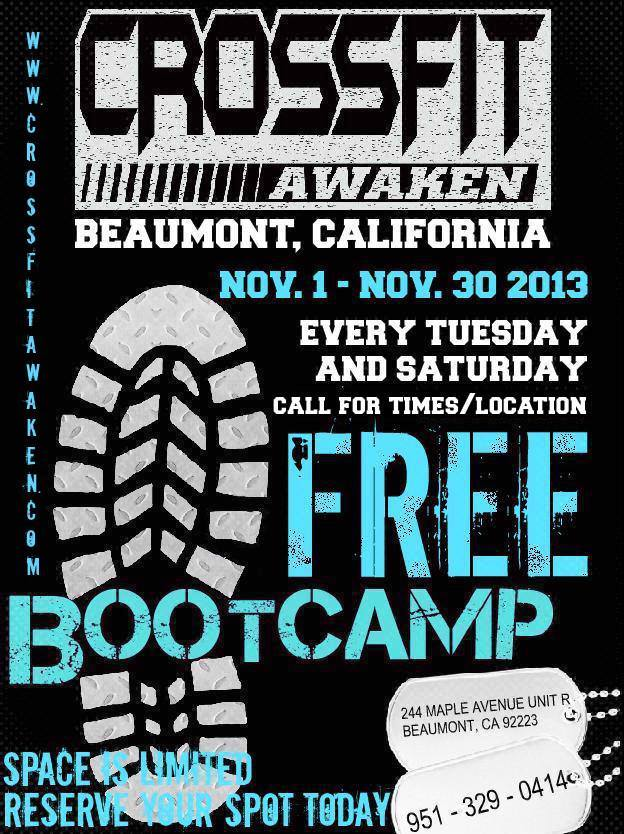 Free Community Boot Camp Being Offered In Beaumont