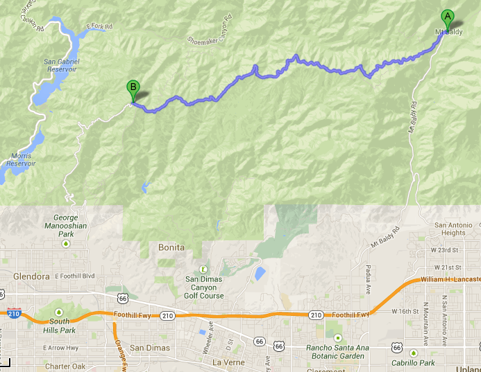 Glendora Mountain Road, Glendora Ridge Road Closed Due to