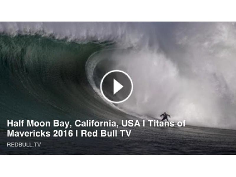 WATCH LIVE: 'Mavericks' Surfing Comp in Half Moon Bay | Half