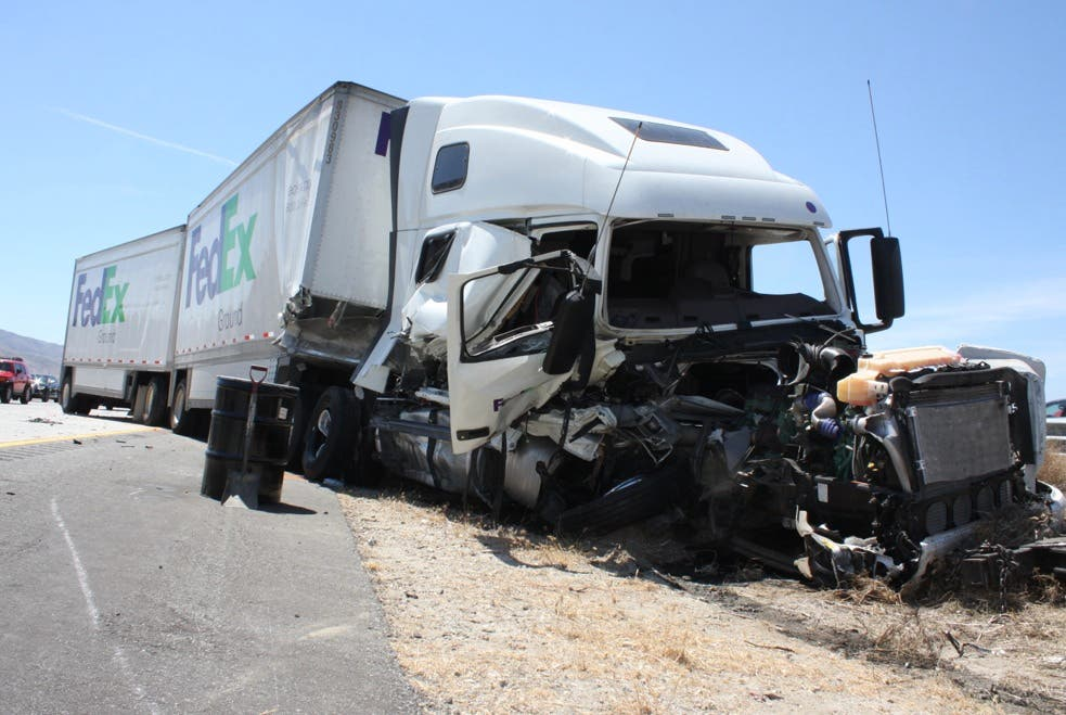 CHP Details Deadly Big Rig Crash on I-10 in Cabazon [UPDATE