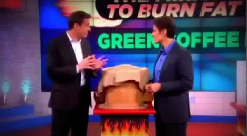 Makers Of Green Coffee Bean Weight Loss Pills Featured On Dr Oz