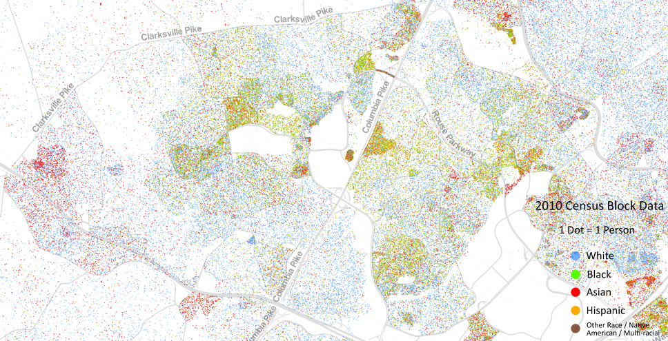 Is Your Neighborhood Diverse? Check the Map | Columbia, MD Patch