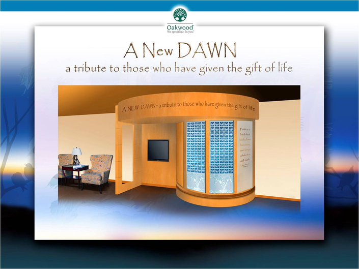 Oakwood Hospital Unveils Memorial Wall for Organ Donors