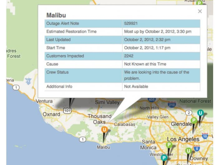 Thousands Lose Power in Point Dume   Malibu, CA Patch