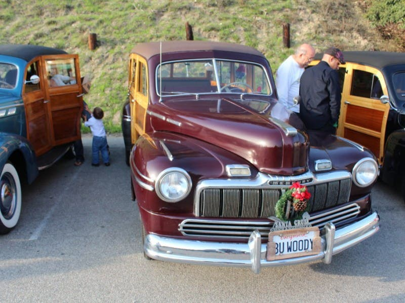 photos vintage woodies parade in malibu 0 - Woodies Christmas Decorations