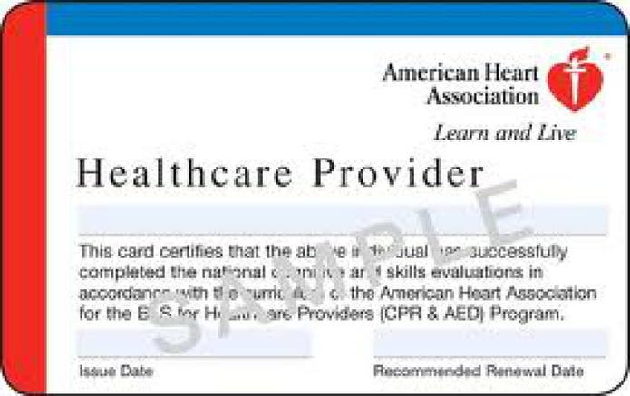 bls cpr healthcare association heart provides patch aha hcp basic support