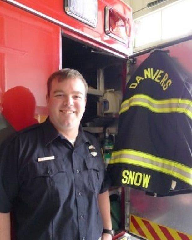 Lifelong Resident Jeffrey Snow Becomes Danvers Firefighter