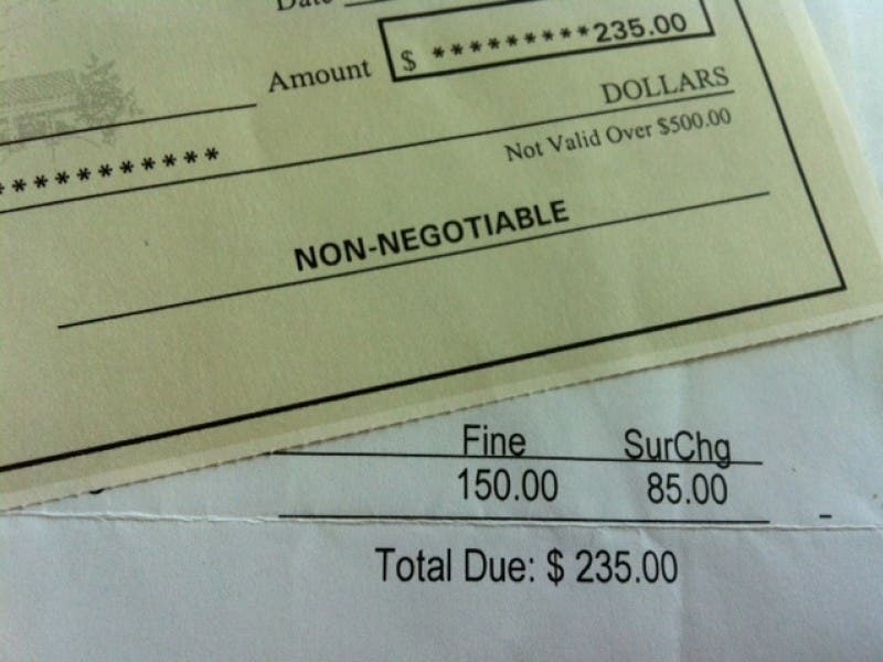 Paying A Speeding Ticket Expect Surcharges And Convenience Fees