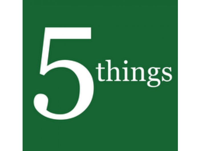 Five Things to Know Today: Domestic Violence Support and More