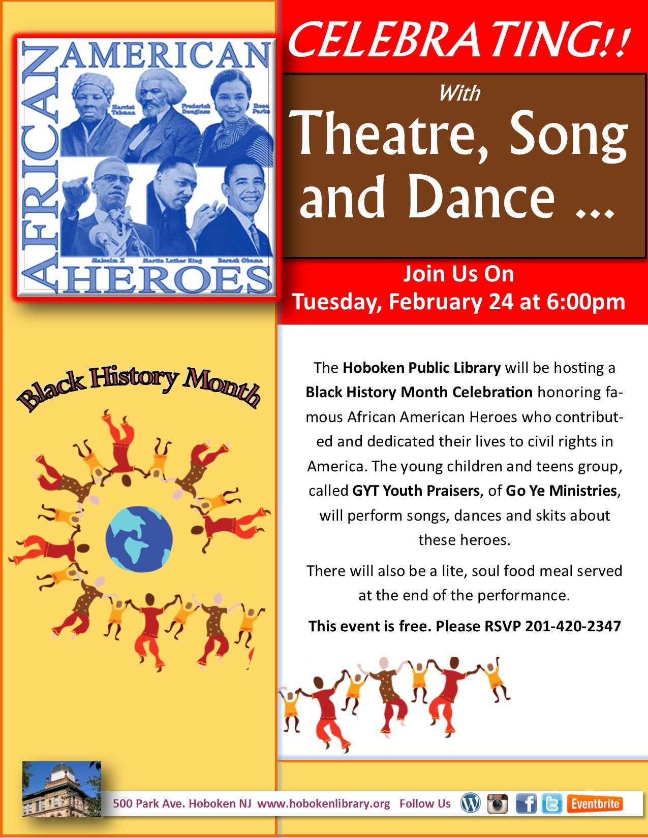 image about Free Printable Black History Skits for Church called Black heritage skits for little ones
