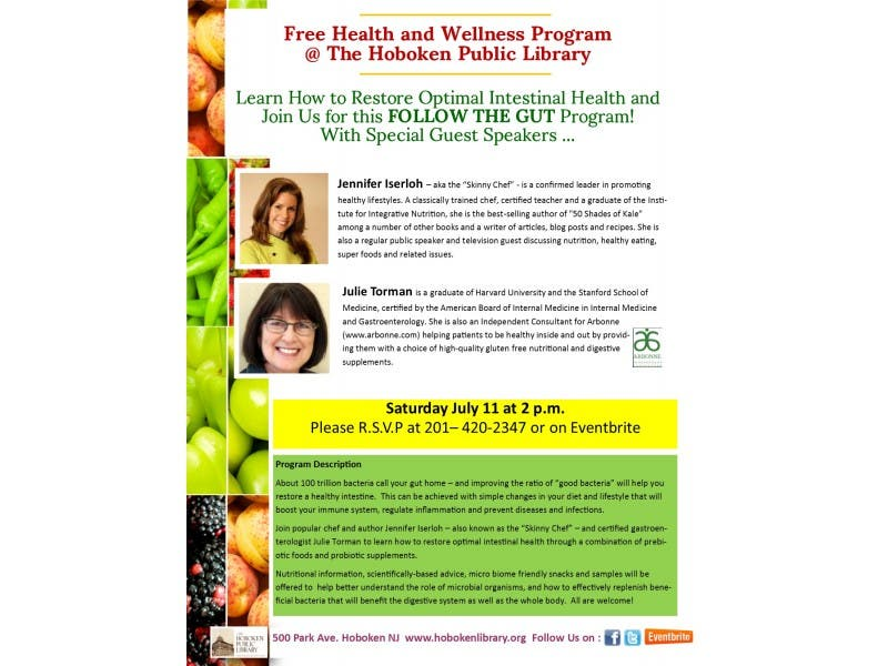 FOLLOW THE GUT! with chef and author Jennifer Iserloh, and