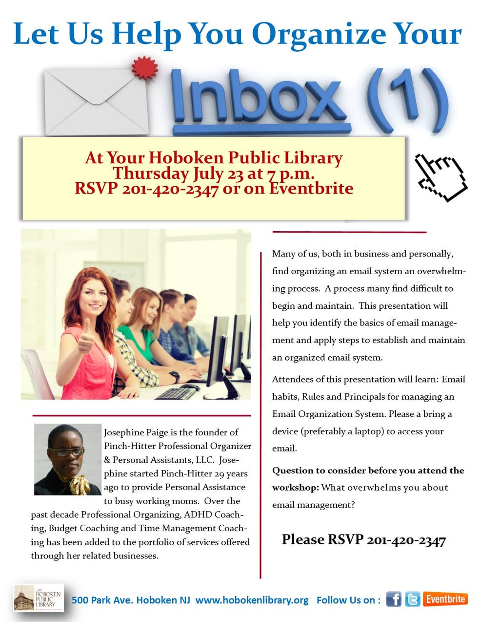 Learn How to Organize your Email Inbox! | Hoboken, NJ Patch