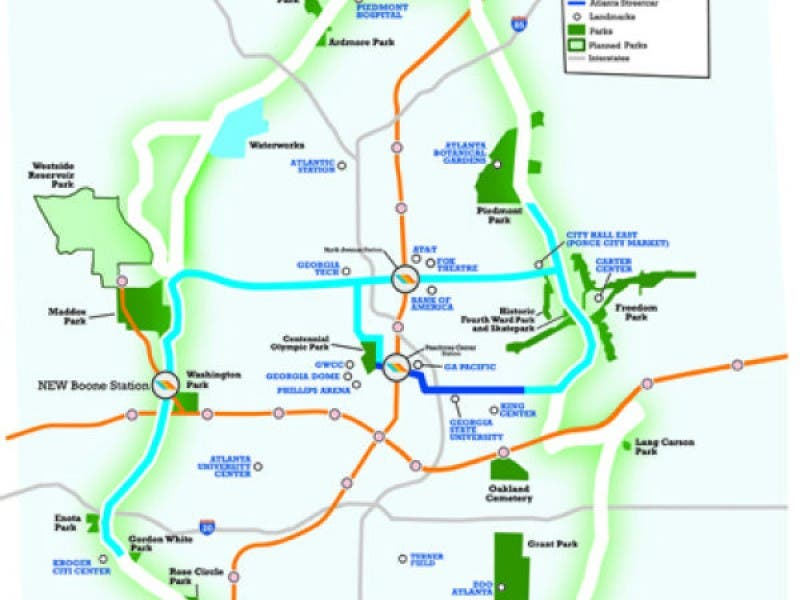The Beltline Atlanta Map.Beltline Org Highlights Their Sw Atlanta Plans Ahead Of