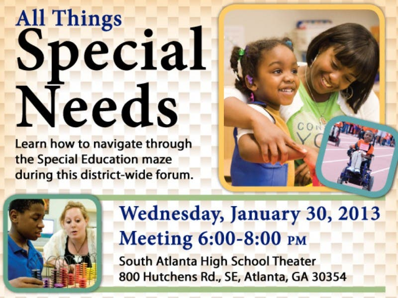Parents Are Invited To The Only Scheduled Aps Special Needs Meeting