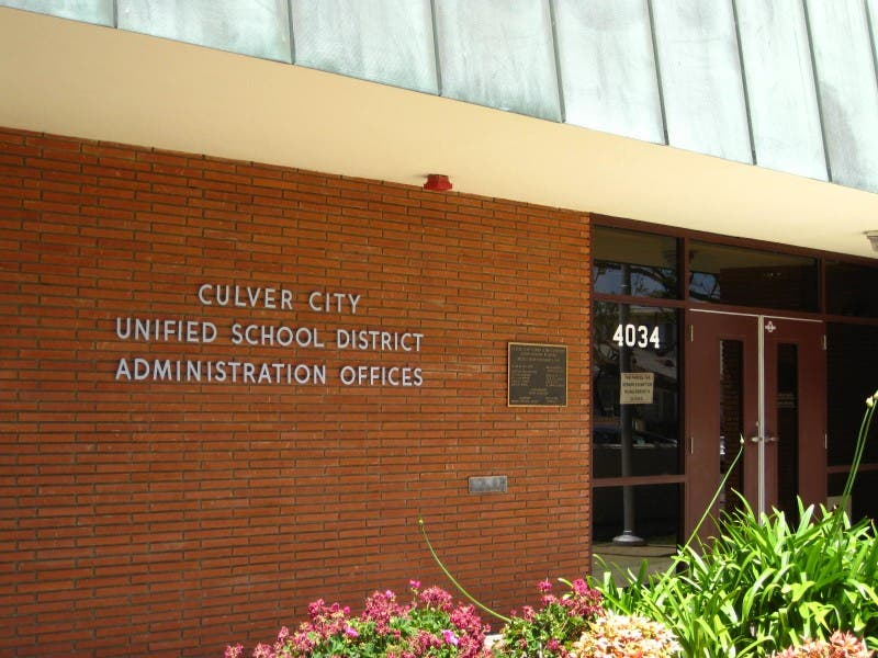 Culver City Unified Board To Take Up School Projects Culver City