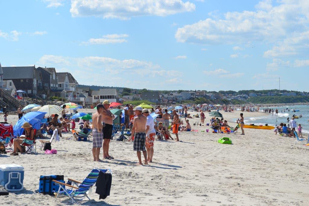 White Horse Beach July
