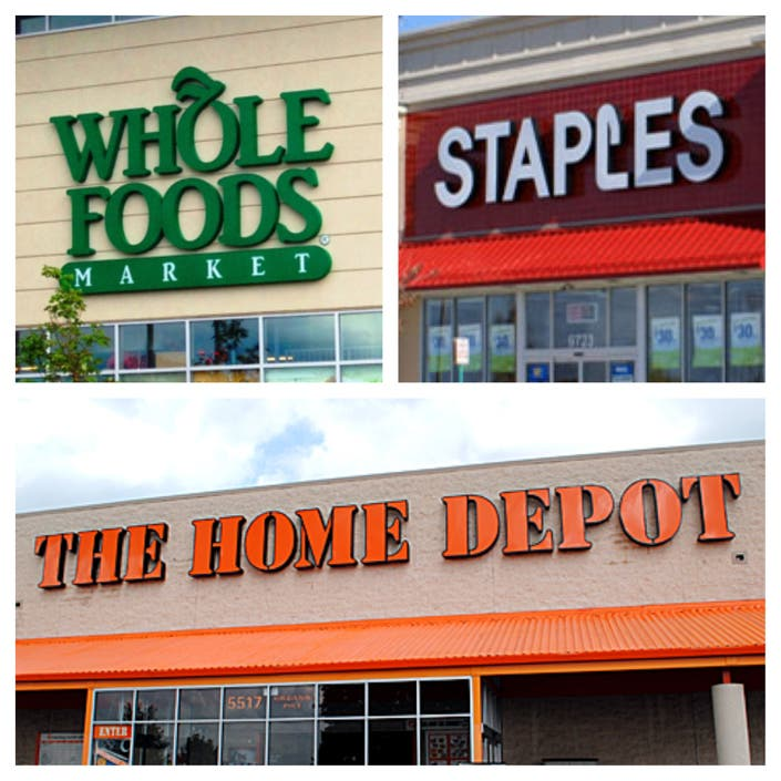 Jobs At Whole Foods, Staples, Home Depot And More