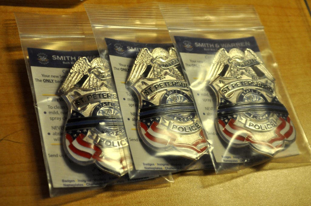 St  Pete Police to Wear Locally Designed Tribute Badges in