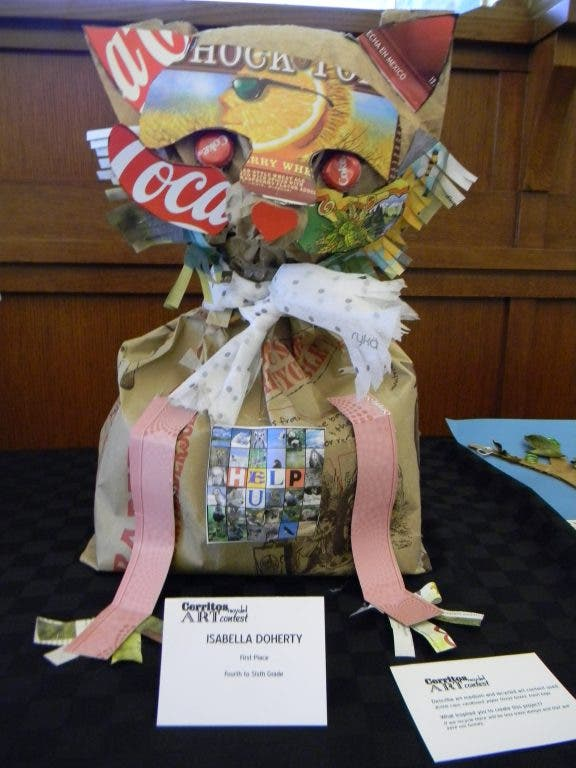 Students Turn Recycled Junk Into Art | Cerritos, CA Patch