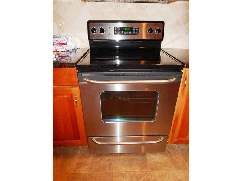 Ge Stainless Steel Electric Range Stove For Scotch Plains Nj Patch