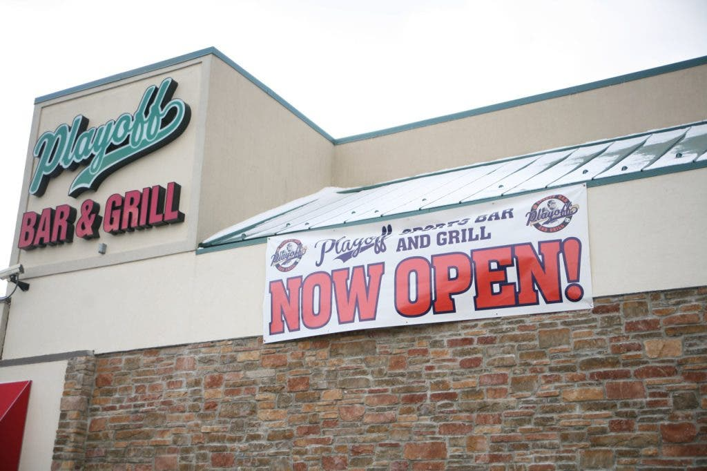 Playoff Bar Grill Open In Cherry Valley Shopping Center