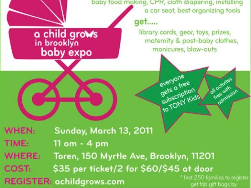 A Child Grows In Brooklyn Baby Expo Fort Greene Ny Patch