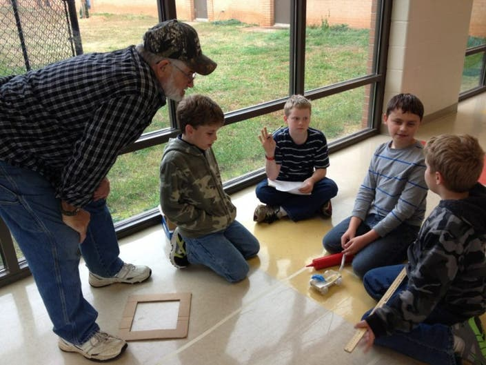 Wren Elementary Kicks Off WATCH D O G S  Program | Easley