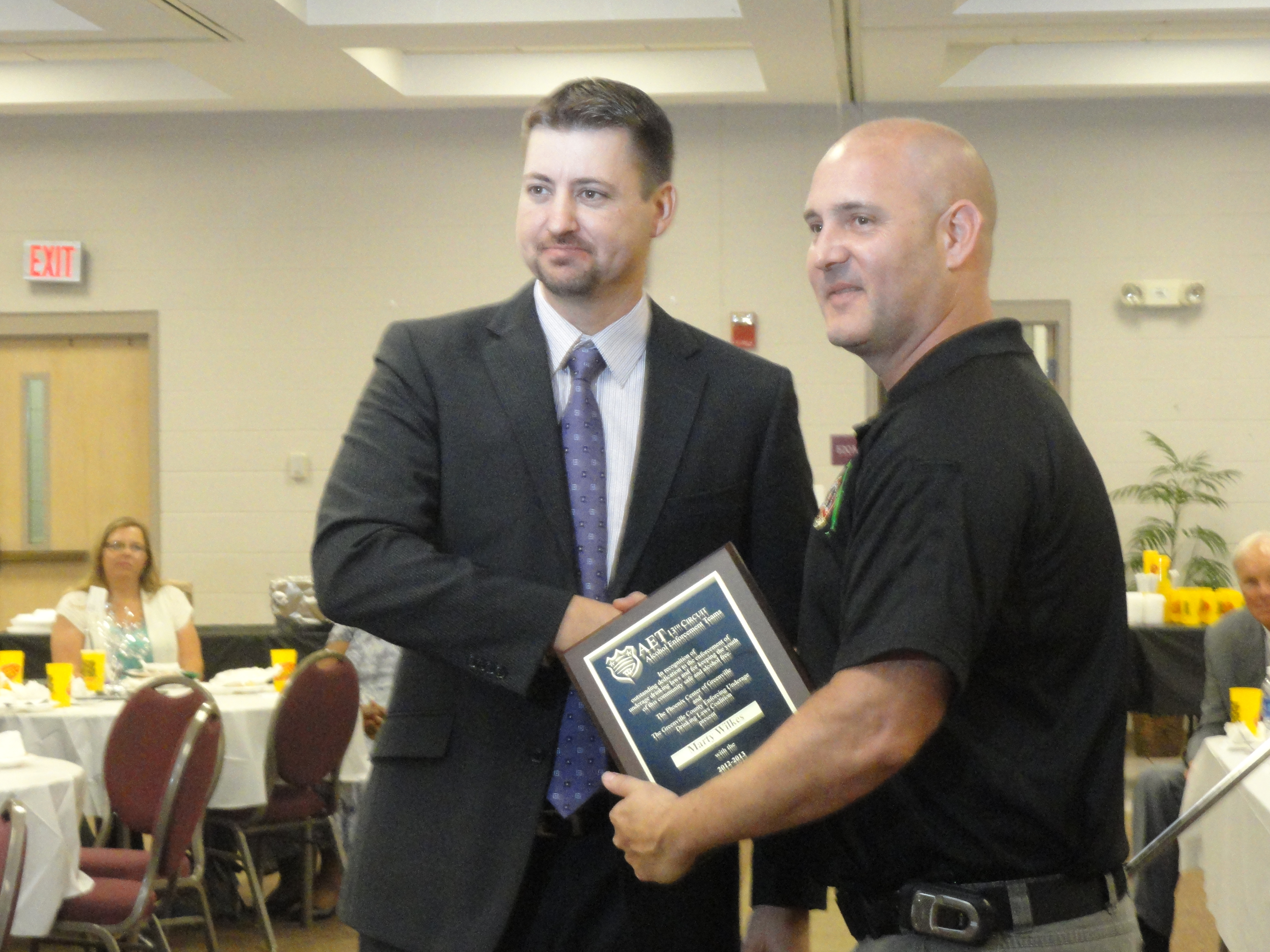 Area Law Enforcement Recognized for Fighting Underage
