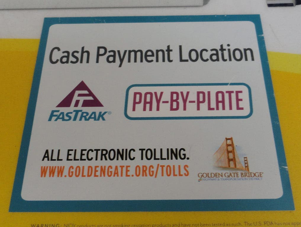 UPDATE: How to Use the New Golden Gate Bridge Toll Cash