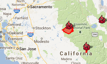 Live Fire Map California California Fire Map: A Live Look at Fires Across the State | San