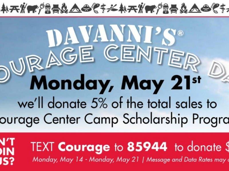 Davanni S Courage Center Day Golden Valley Mn Patch