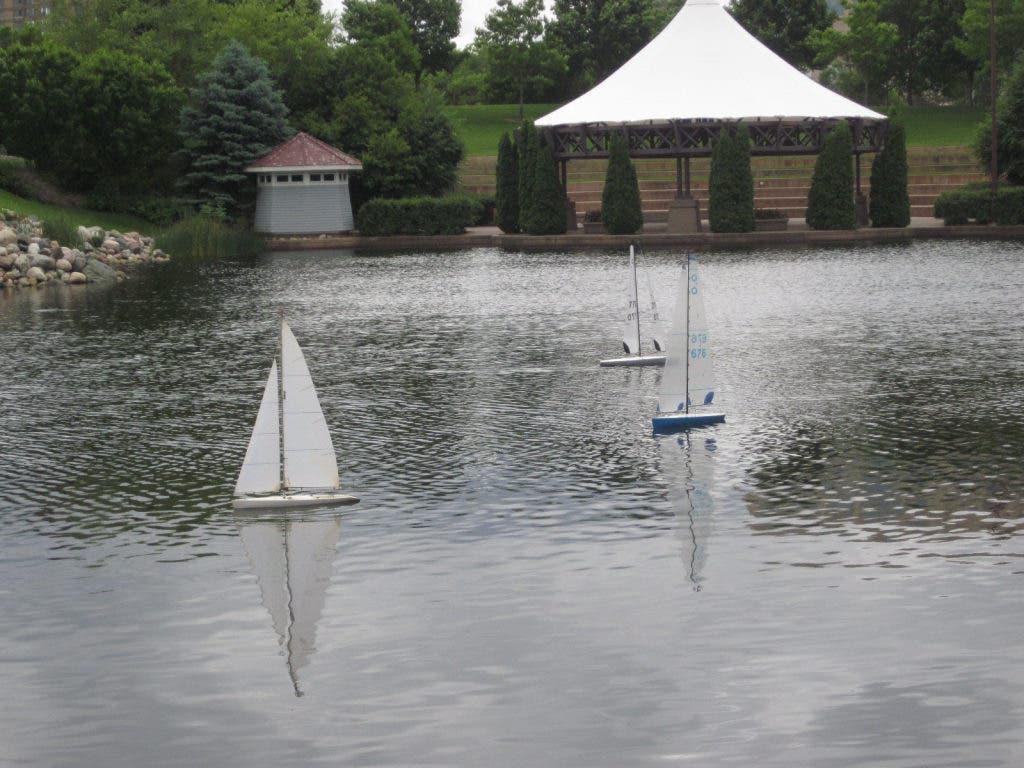 Model Yacht Sails