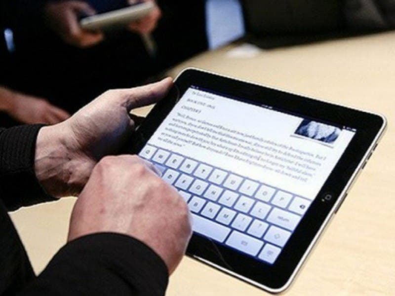 tablets replace textbooks