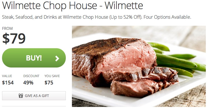 North Shore's Chop House on Groupon | Winnetka, IL Patch