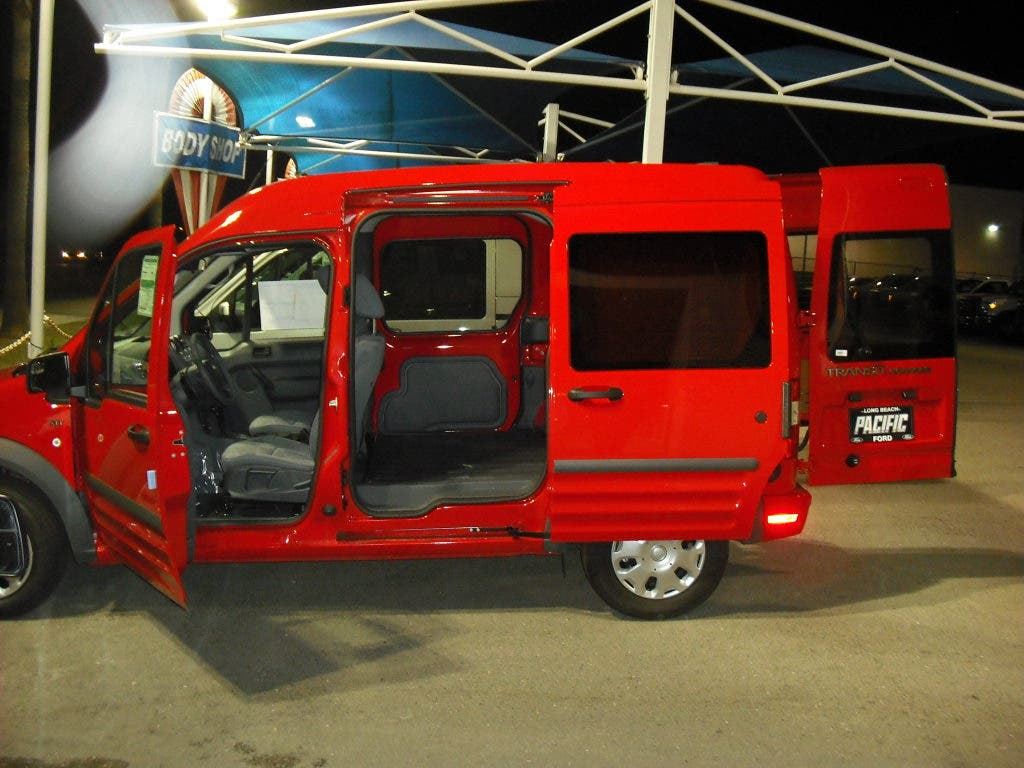 Ford Transit Connect Camper >> The Camper Van Of Today It Could Be Very Crafty Belmont