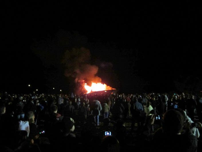 The 25th Annual Halloween Boat Burning Is This Friday