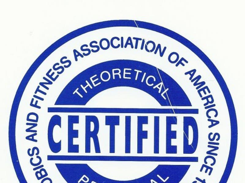 Get Certified To Be A Fitness Instructor Afaa Certification In