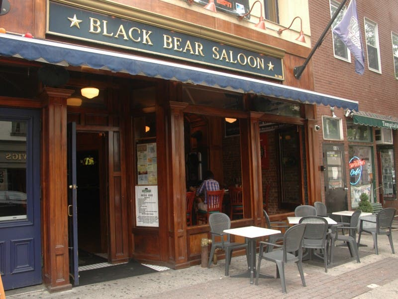 Black bear saloon white plains