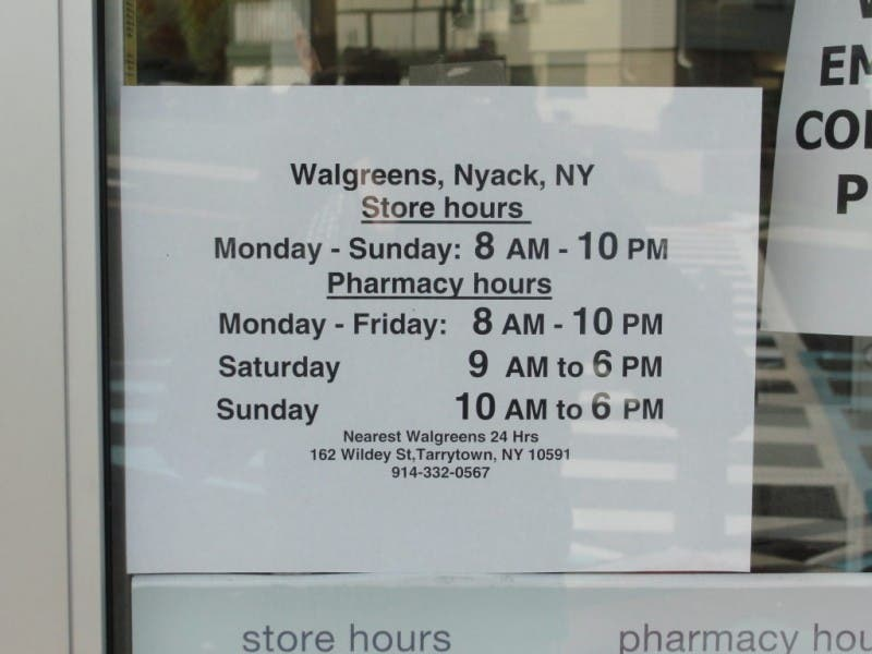 nyack walgreens is open poll update nyack ny patch