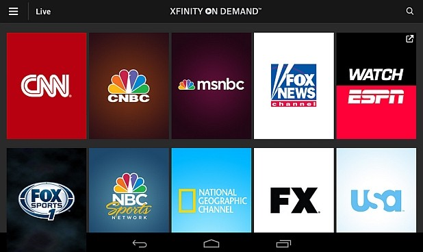 New Xfinity App Arrives Just in Time for Ski and Holiday