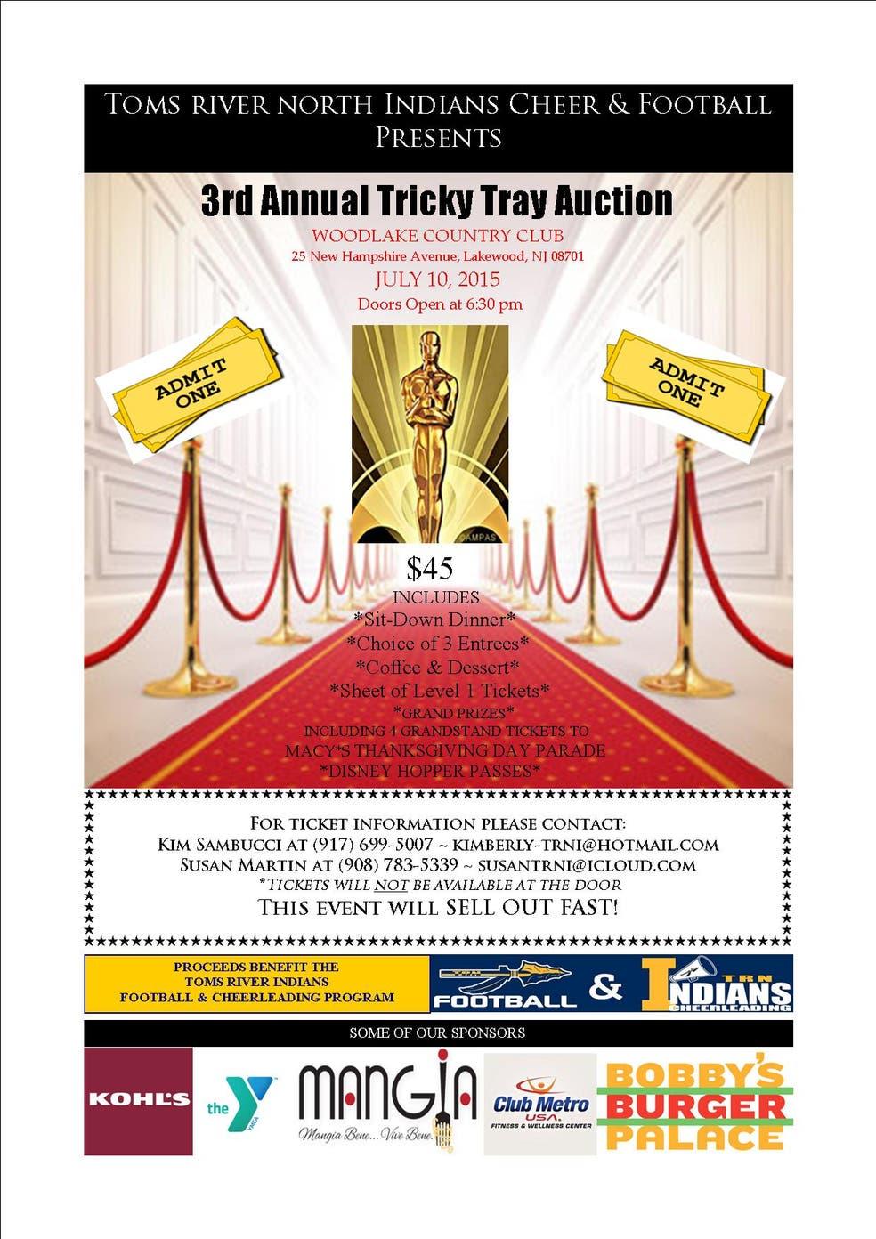 Tricky Tray Auction | Berkeley, NJ Patch