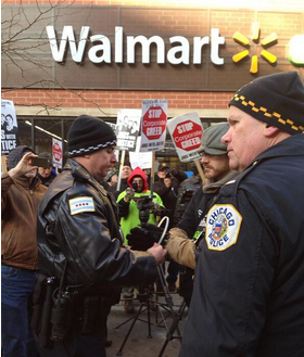 Walmart Workers Hold Black Friday Protests 10 Arrested At Chicago Store Protests Algonquin Il Patch