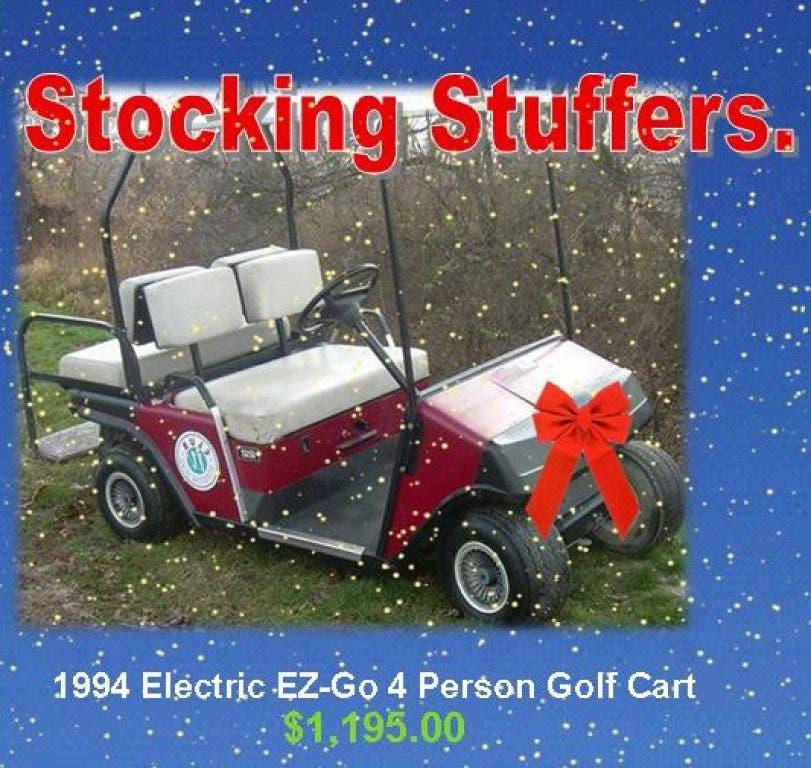 Santa's Golf Cart Stocking Stuffer Story! | Joliet, IL Patch
