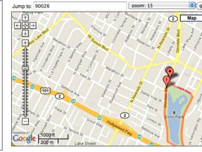 Map a Walking Route in Your Neighborhood | Echo Park, CA Patch Map A Walking Route on map a course, map a process, map a run, map a drive, map a path, map a distance, map a cut,