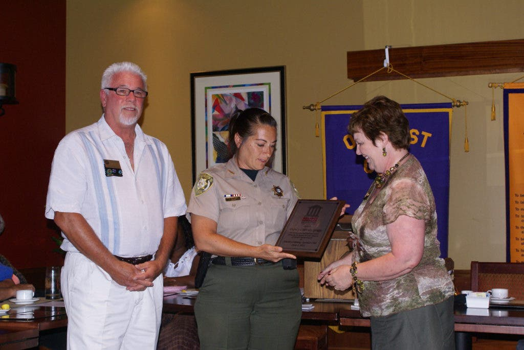 Sawnee-Cumming Optimist Club Honors Deputy | Cumming, GA Patch