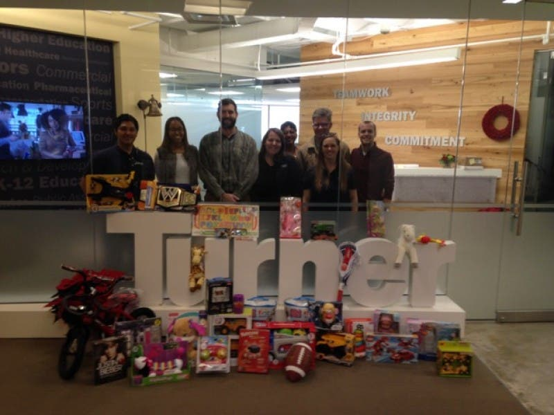 Toys for Tots: Atlanta's Turner Construction Company Spreads