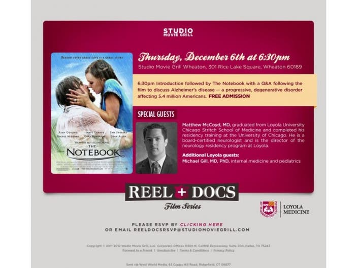LOYOLA EXPERTS TO DISCUSS ALZHEIMER'S PREVENTION AND