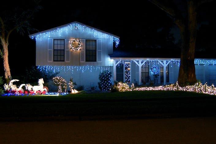 One Story House Christmas Lights.A Christmas Story Radnor Pa Patch