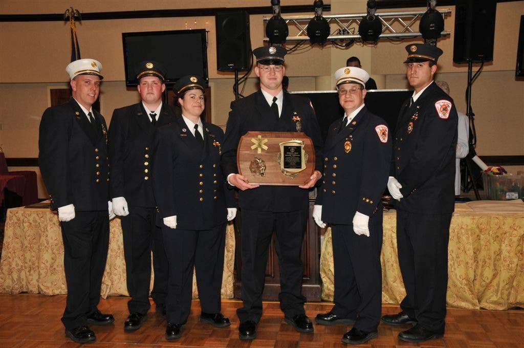 East Northport Fire Dep't  Installs New Officers, Honors Longtime